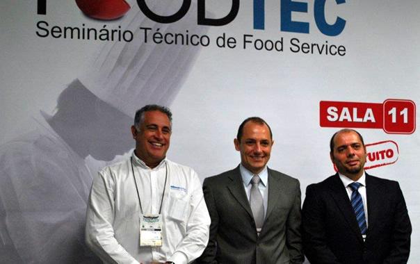 Luiz Henrique Freire (Klimaquip), Milton Machado (Prática Fornos), Roberto Soares (Berta Cozinhas)