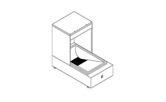 Conservador de Frituras Elétricos 500mm
