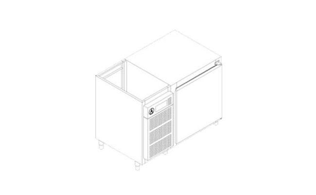 Freezer Horizontal Compressor Incorporado Série 700