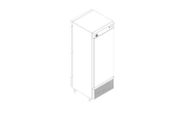Pass Trough Vertical Porta Inox