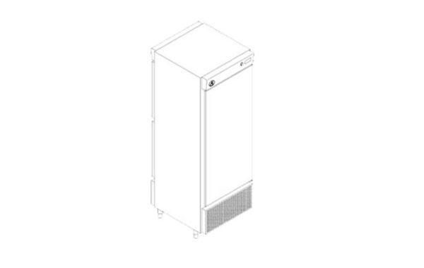 Pass Trough Vertical Refrigerado
