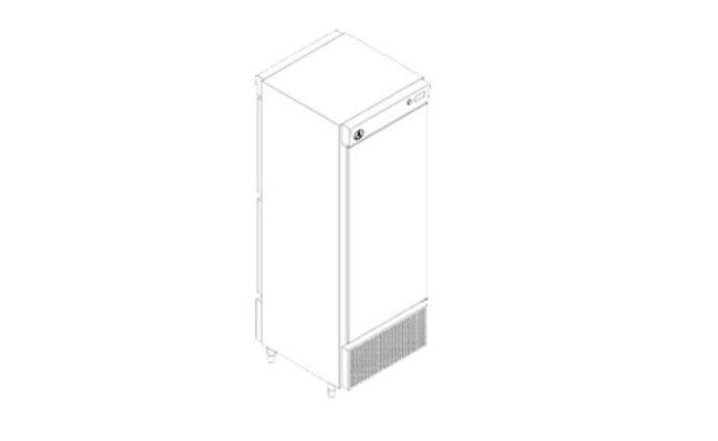 Pass Trough Vertical Porta Vidro e Inox
