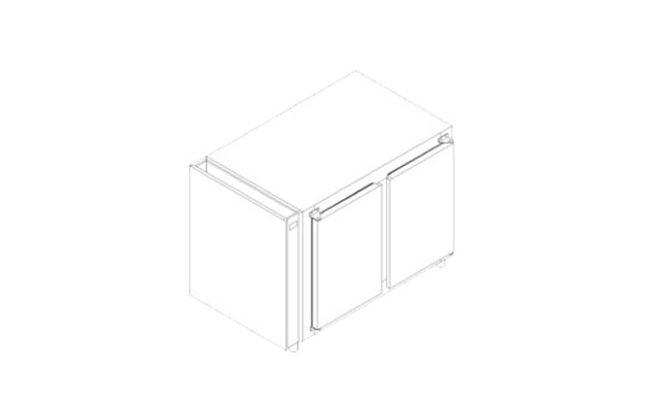 Refrigerador Horizontal Compressor Remoto Serie 500R