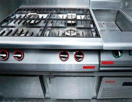 Projeto funcional para cozinhas industriais